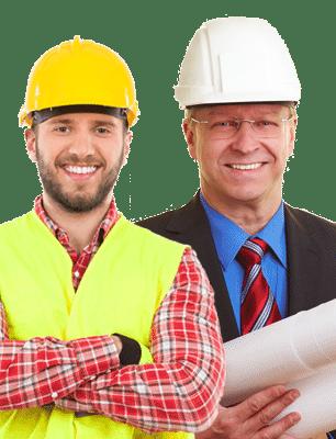 Les chefs de chantier travaillent en collaboration avec les cadres d'entreprises grâce à SOLUTIONS BTP de ADCI