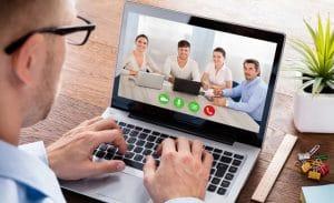 La formation en ligne en visio conférence, l'un des services ADCI pour les logiciels SOLUTIONS BTP