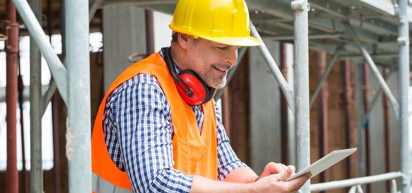 Etre mobile avec la Tablette Suivi sur les chantiers BTP
