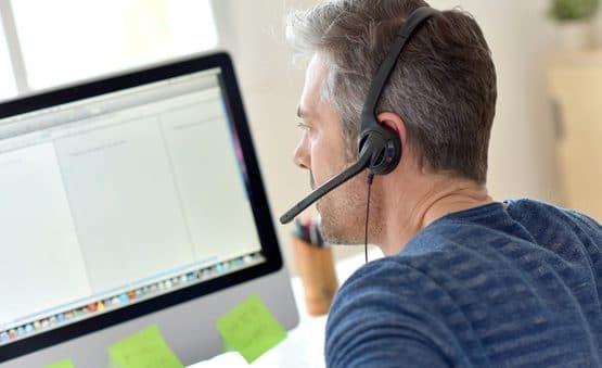 Le dépannage sur les logiciels SOLUTIONS BTP par télé-assistance par le service Hotline