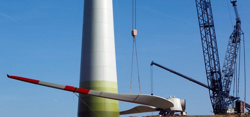 Suivi du chantier éolien avec le logiciel SUIVI - SOLUTIONS BTP
