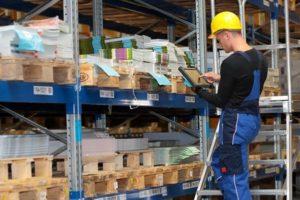 Inventaires des stock avec la tablette stock - SOLUTIONS BTP