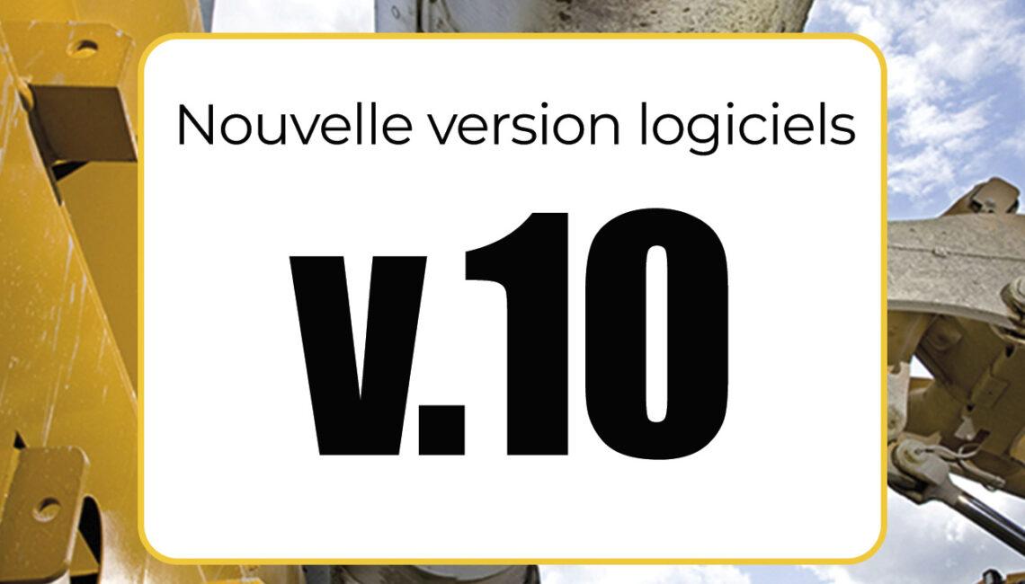 version 10 logiciel btp