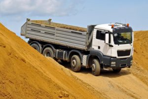 camion chantier - logiciel de pesées