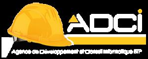 Logo ADCI baseline Blanc