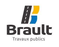 Logo Brault travaux publics