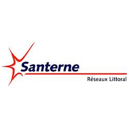 Logo Santerne réseaux littoral