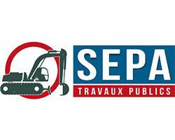 Logo SEPA travaux publics