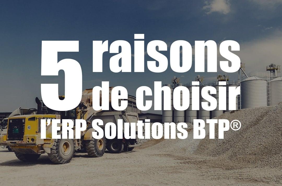 bien choisir son ERP - batiment et travaux publics